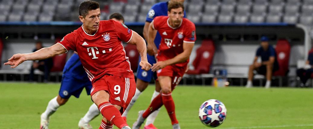 FC Bayern München: Robert Lewandowski meldet sich im Training zurück