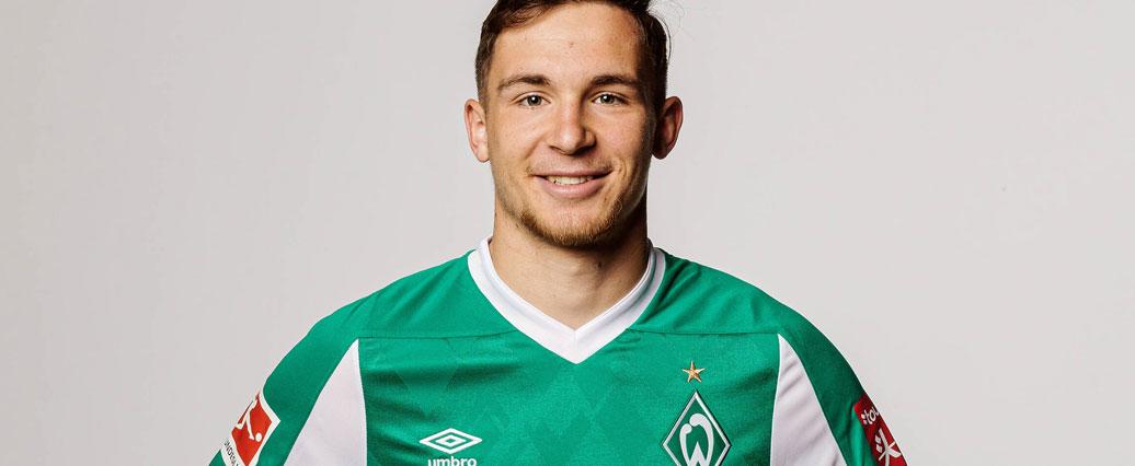 Werder Bremen: Oscar Schönfelder wieder teilweise im Teamtraining