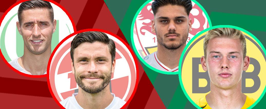 LigaInsider: Die Last-minute-Änderungen der VAs vor dem 3. Spieltag!