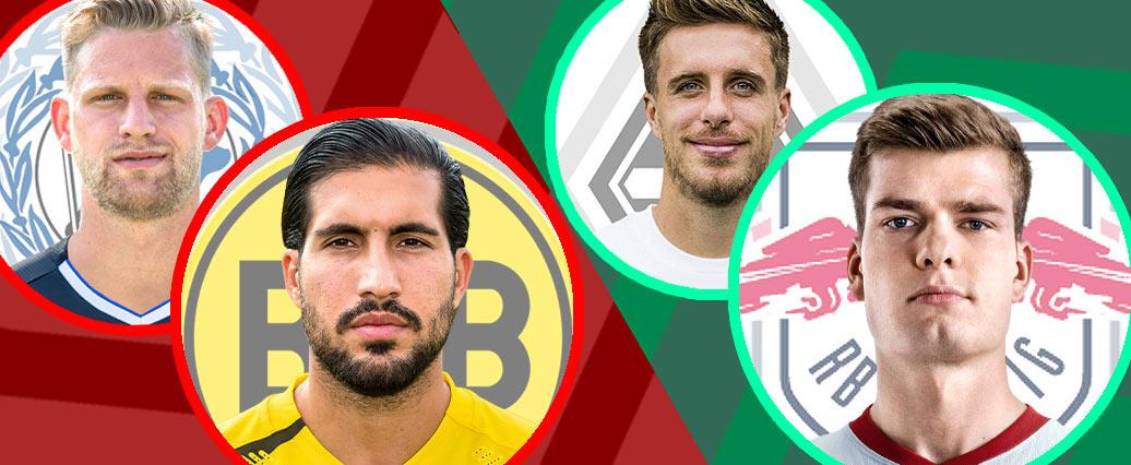 LigaInsider: Die Last-minute-Änderungen der VAs vor dem 5. Spieltag!