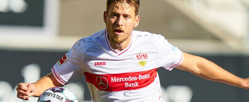 VfB Stuttgart: Leise Hoffnung auf Anton-Comeback gegen Schalke