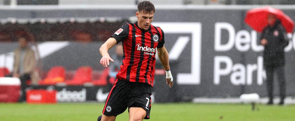 Eintracht Frankfurt: Ajdin Hrustic hat Daichi Kamada vor der Nase