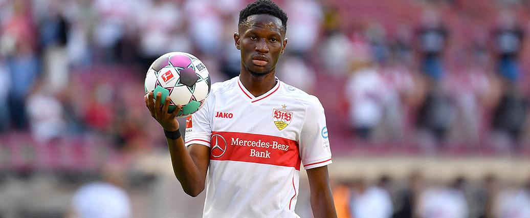 VfB Stuttgart: Alkhaly Momo Cissé fällt verletzt aus