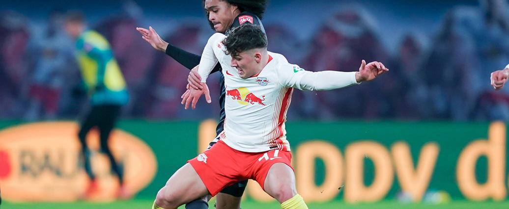 RB Leipzig: Youngster Joscha Wosz erhält langfristigen Profivertrag