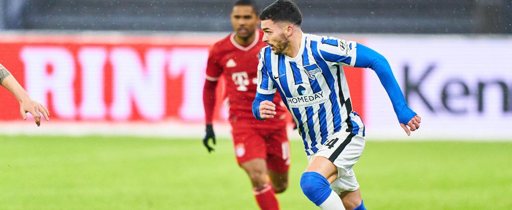 Hertha BSC: Nemanja Radonjić nach Muskelverletzung zurück!