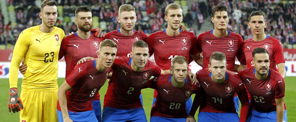 Bundesliga: Tschechische Spieler werden nur ein Länderspiel machen