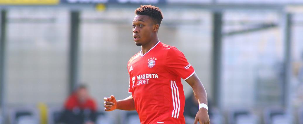 FC Bayern: Talent Christopher Scott gegen Leipzig erstmals im Kader