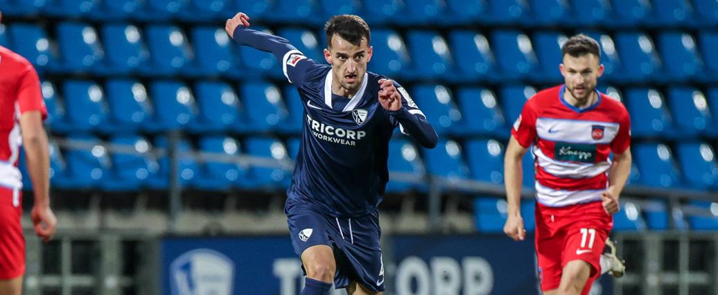 VfL Bochum: Erhan Masovic kassiert Lob von Coach Reis