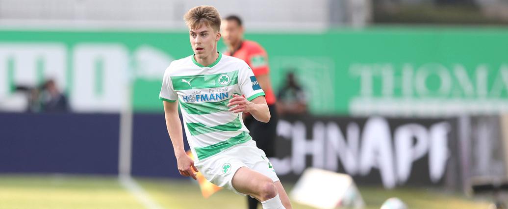 Greuther Fürth: Gian-Luca Itter nach Außenbandverletzung zurück