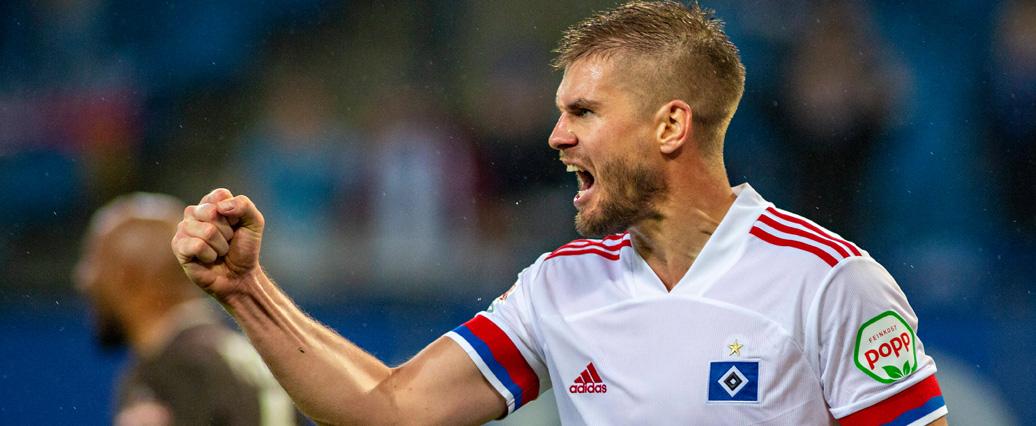 FC Schalke 04: Verpflichtung von HSV-Stürmer Simon Terodde perfekt