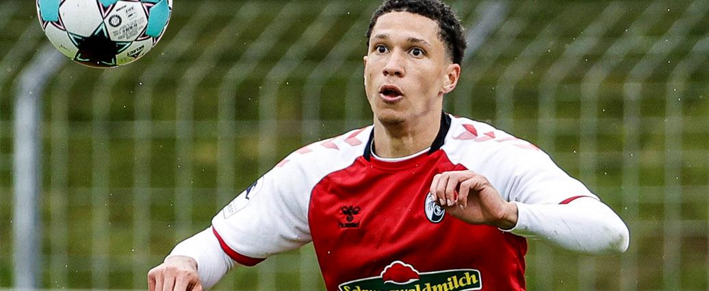 SC Freiburg: Nishan Burkart verlängert und steigt zu den Profis auf