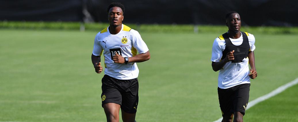 Borussia Dortmund: Coulibaly und Zagadou stoßen langsam zum Team