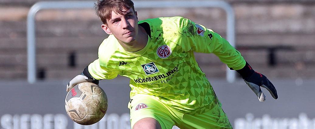 Mainz 05: Torwarttalent Lasse Rieß mit neuem Vertrag ausgestattet