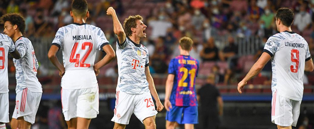 Champions League: Überlegene Bayern besiegen den FC Barcelona