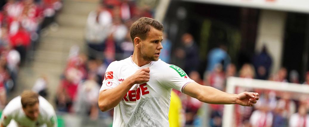 1. FC Köln: Louis Schaub klagt nach Sieg mit ÖFB über Wadenprobleme