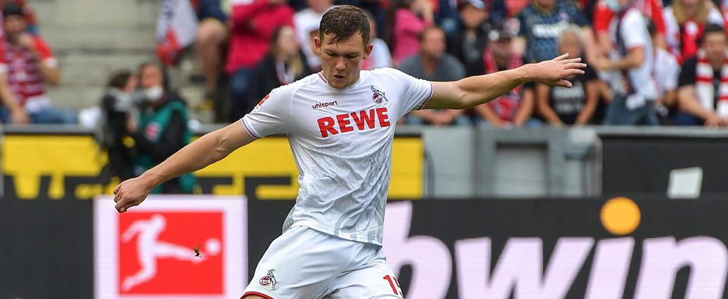 1. FC Köln: Luca Kilian setzt nur kurz mit dem Training aus